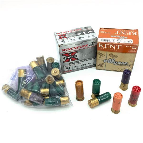 "Assorted 12 Ga 2 3/4"" Ammunition, 60 Rounds"