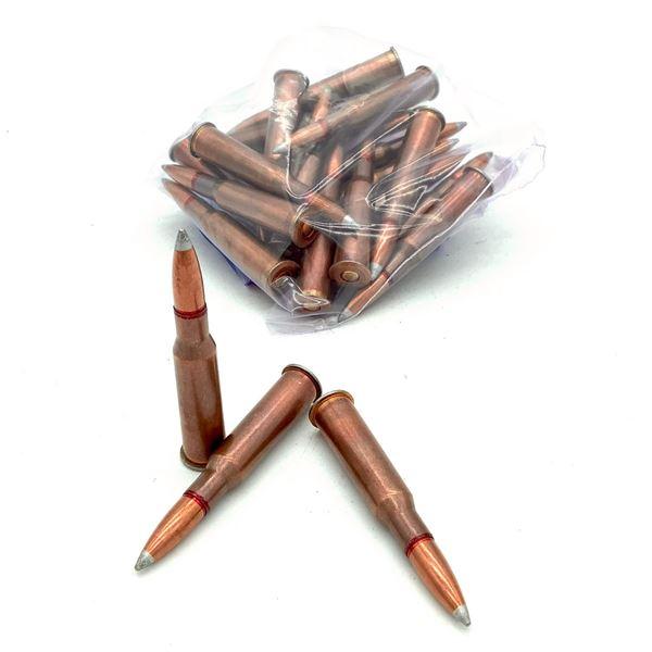 Loose Surplus 7.62 X 54R FMJ Ammunition, 21 Rounds