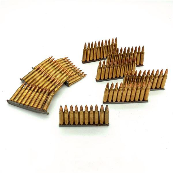 Federal  223 Rem 55 Grain FMJ Ammunition on Clips, 100 Rounds