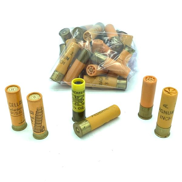 """Loose 20 Ga 2 3/4"""" and 3"""" Ammunition, 28 Rounds"""