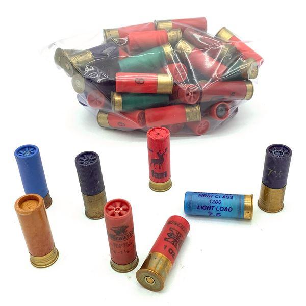 Assorted 12 Ga Ammunition, 62 Rounds