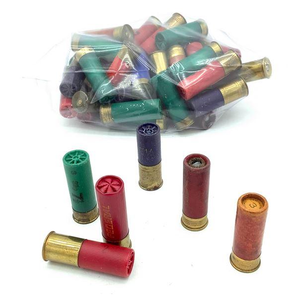 Assorted 12 Ga Ammunition, 54 Rounds