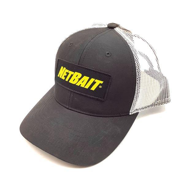 Netbait Cap Mesh, Black, New