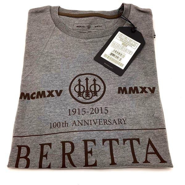 Beretta T-Shirt Size XL, Grey, New