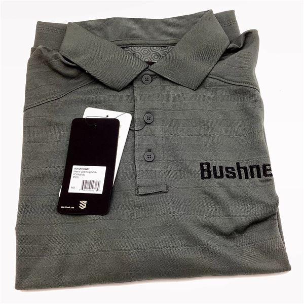 Bushnell Polo Shirt, Medium, Grey, New