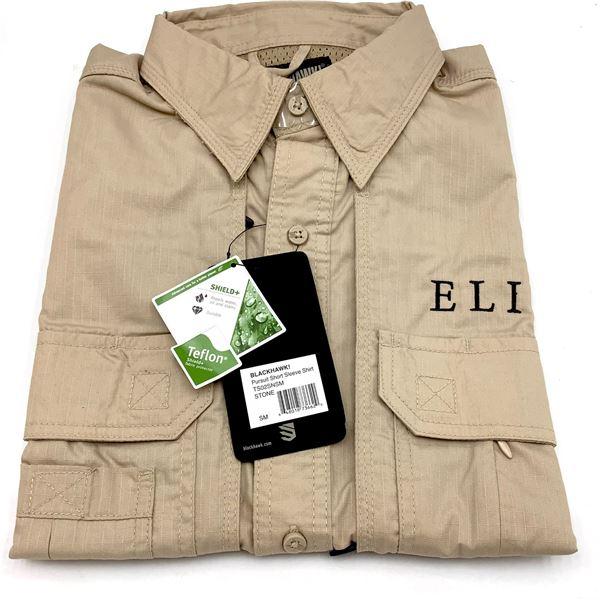 Bushnell Elite Short Sleeve Shirt, Stone, Small, New