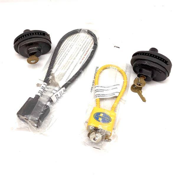 Assorted Locks X 4