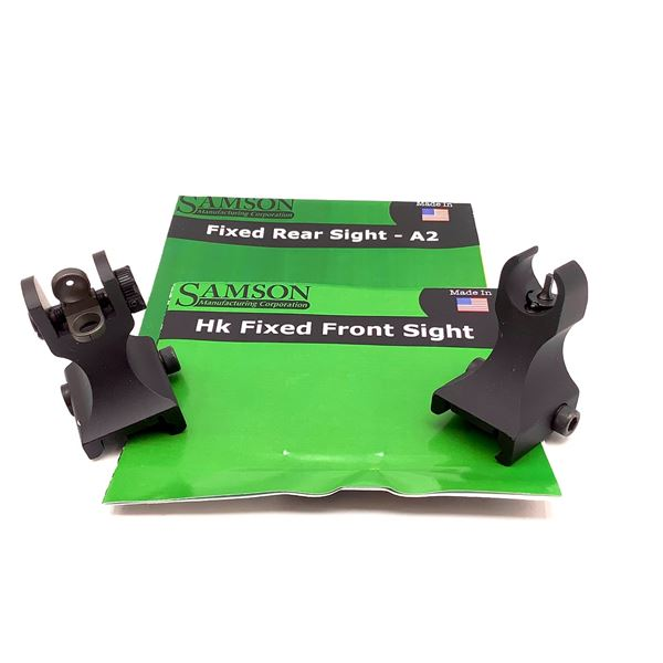 Samson Fixed Front and Rear Sight Set, New