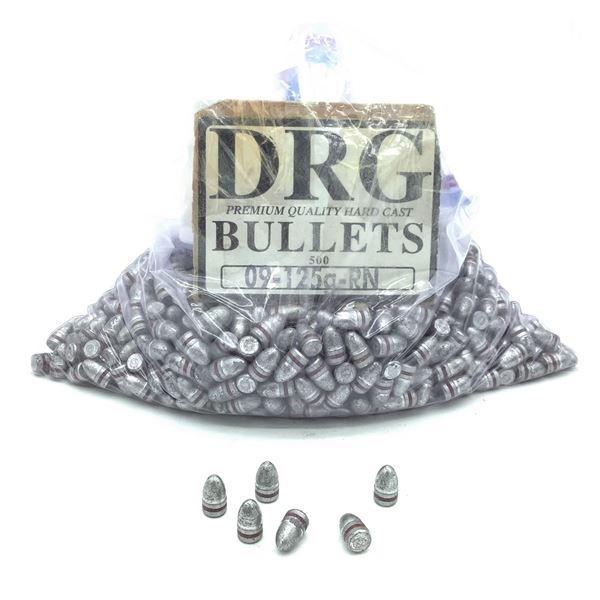 Projectiles 9mm, 125 Grain, RN