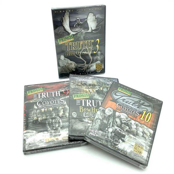 Primos DVD's X 4, New