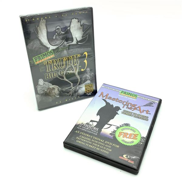Primos DVD's X 2, New