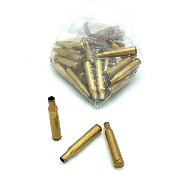 Winchester 270 Win Brass Cases, 33 Pc