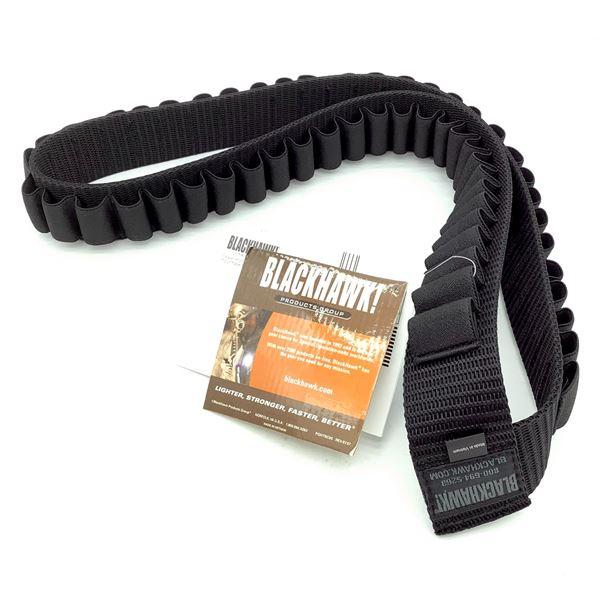 BlackHawk Shotgun Bandoleer, Black, New