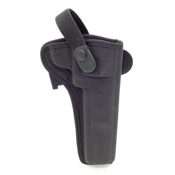 Bianchi Belt Holster, Nylon, Black
