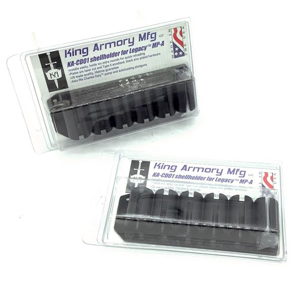 King Armory Shell Holder for 12 Ga MP-A and Charles Daly X 2, New