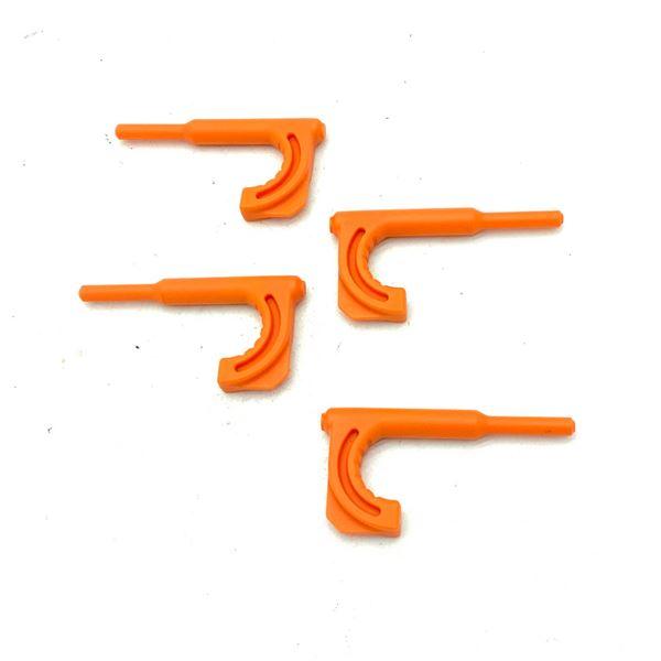 Rifle Chamber Flags, Orange X 4