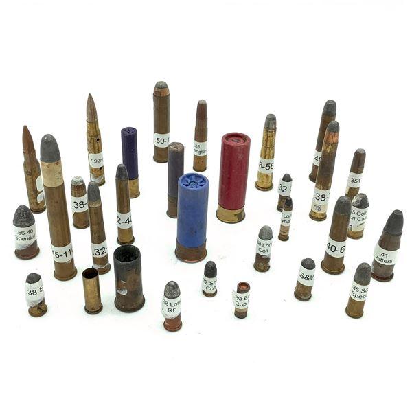 Assorted Shotgun/ Rifle Ammunition X 31 Rounds