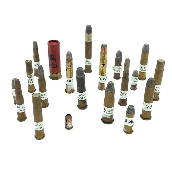 Assorted Shotgun/ Rifle Ammunition X 20 Rounds