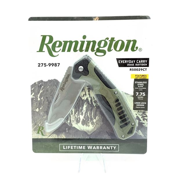 """Remington EveryDay Carry R50029CT Folding Knife 7.75"""" Blade, New"""