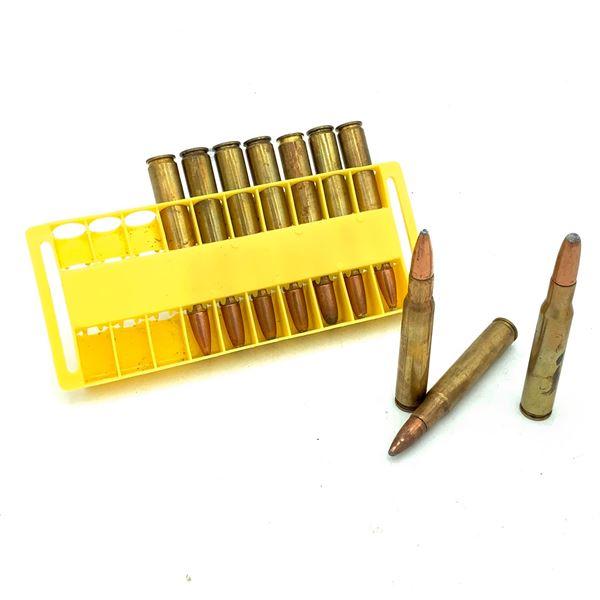 Assorted 30-06 SPRG Ammunition, 10 Rounds