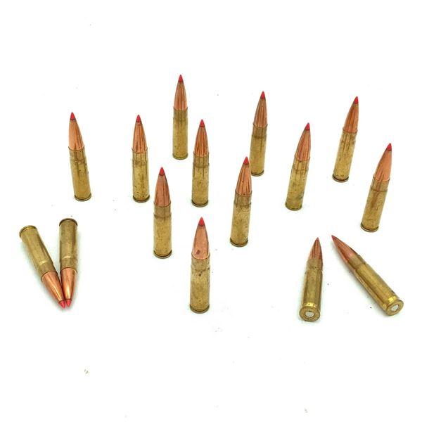 Hornady 300 Blk Ammunition X 15 Rounds
