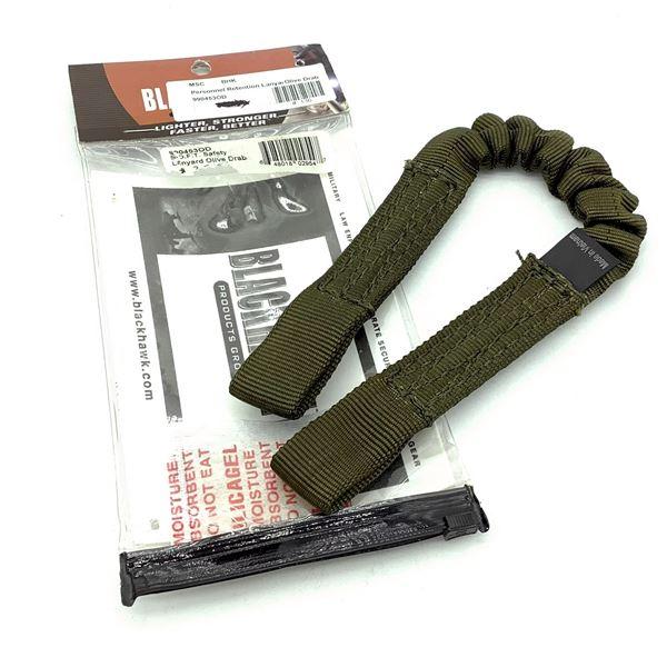 BlackHawk 990453OD Safety Lanyard, ODG, New