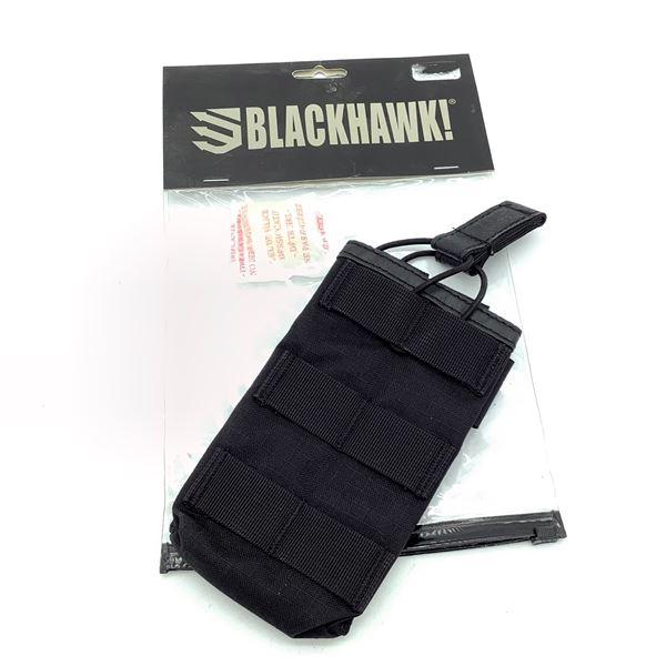 BlackHawk 37CL68BK Strike Single M4/M16 Magazine Pouch, Black, New
