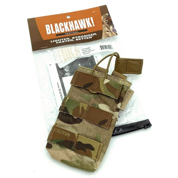 BlackHawk 37CL68MC Strike Single M4/M16 Magazine Pouch, Multi-Cam, New