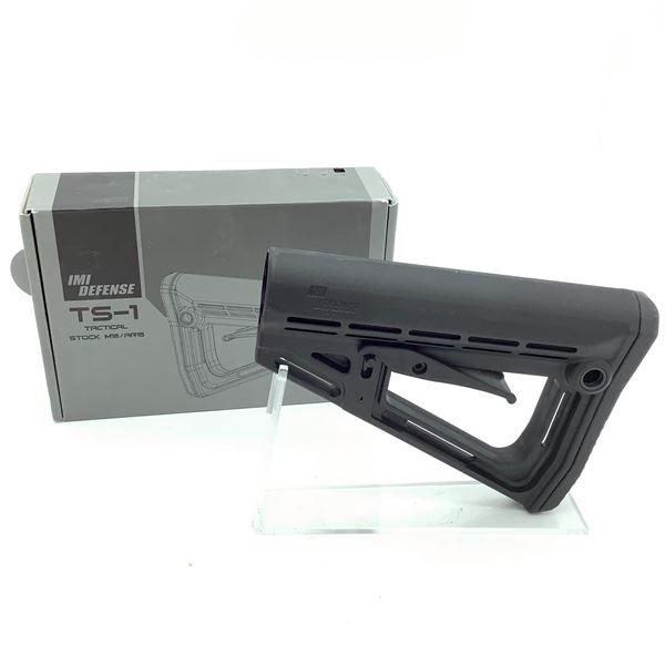 IMI Defense TS-1 Tactical Stock M16/ AR-15, Black, New