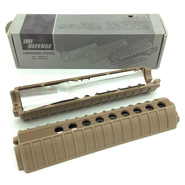 IMI Defense AR-15 / M16 Mid Length Handguard, FDE, New