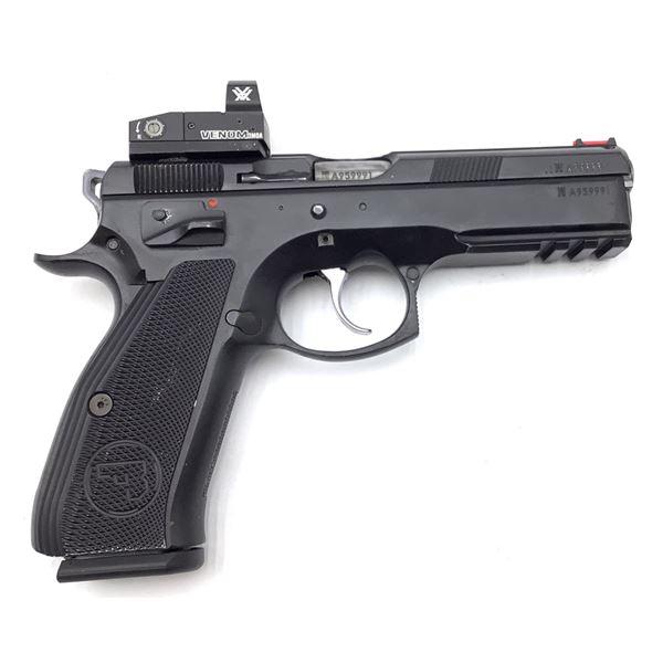 CZ SP-01 Shadow Semi Auto Pistol 9mm  Restricted