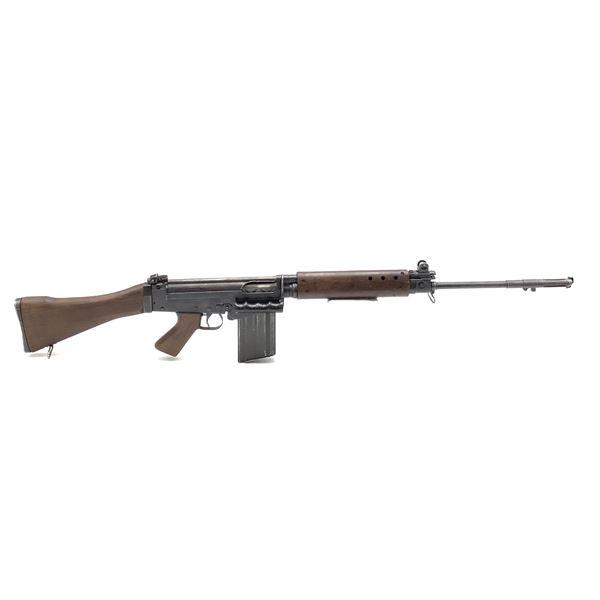 FN FAL (Ishapore) Semi Auto Rifle 7.62 mm. Prohibited