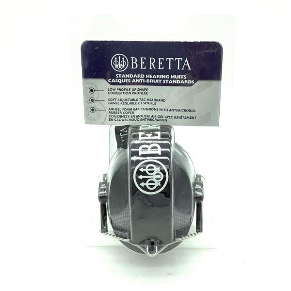 Beretta CF-10 Prevail Shooting Ear Muffs, Grey, New