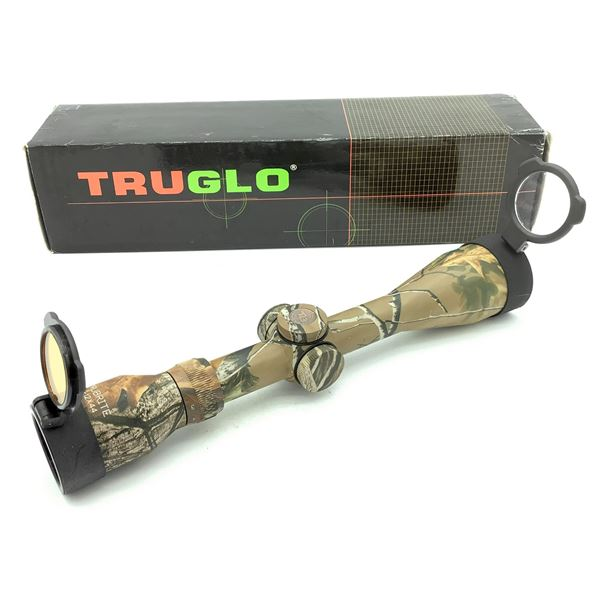 TruGlo SCP MB TruBrite 3-12 X 44 IR Hunting Scope With BDC Reticle, Camo