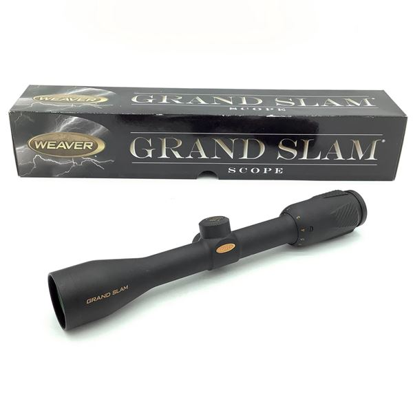 Weaver 800610 Grand Slam 2 - 8 X 36 mm Scope With Dual-X Reticle, New