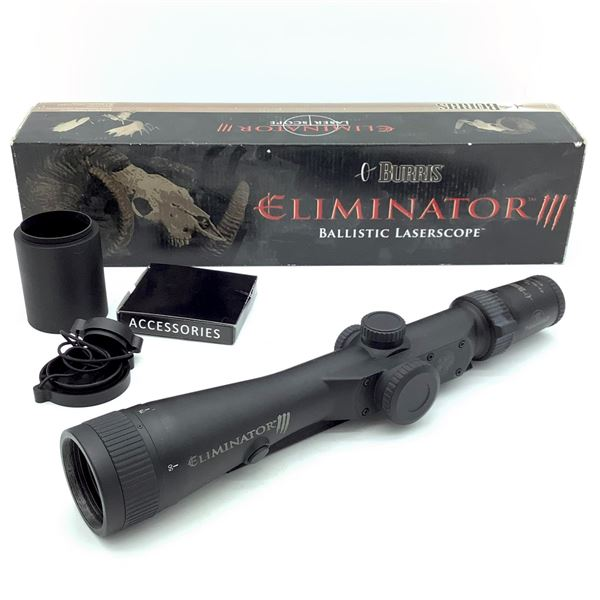 Burris 200116 Eliminator Laser 4 - 16 X 50 mm Scope With X96 Reticle, New