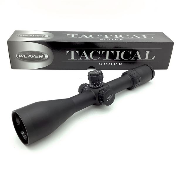 Weaver 800362 Tactical 3 - 15 X 50 mm Scope With Mil Dot Reticle