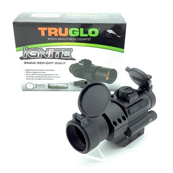 TruGlo TG833SBN Ignite 30 mm Red Dot Optic, New