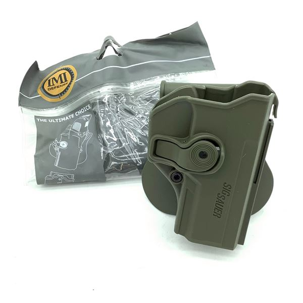 IMI Defense Sig Sauer P250 Compact Retention Paddle Holster, ODG, New
