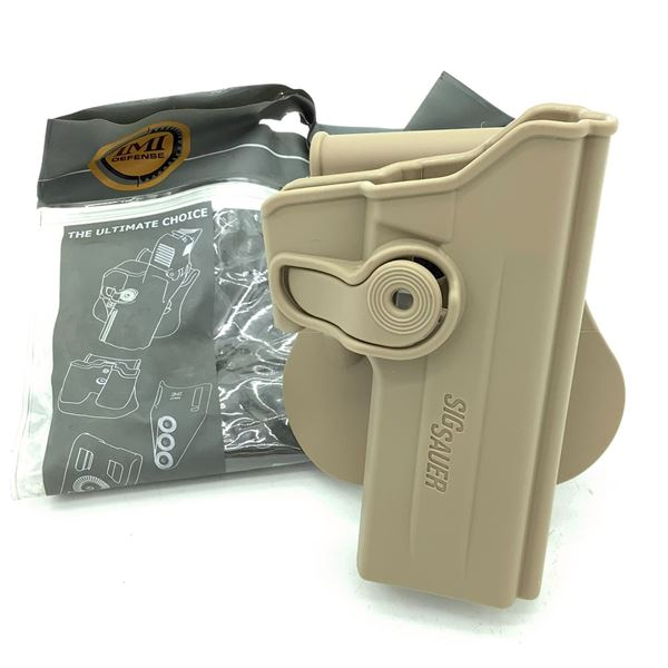 IMI Defense Sig Sauer P220 / P228 Retention Paddle Holster, FDE, New