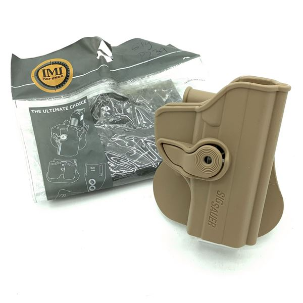 IMI Defense Sig Sauer P239 Retention Paddle Holster, FDE, New