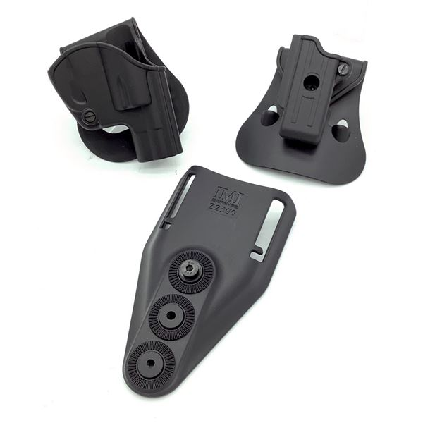 IMI Defense Single Mag Pouch for Makarov PM, Low Ride Belt Attachment and 38 S & W/ Special Holster