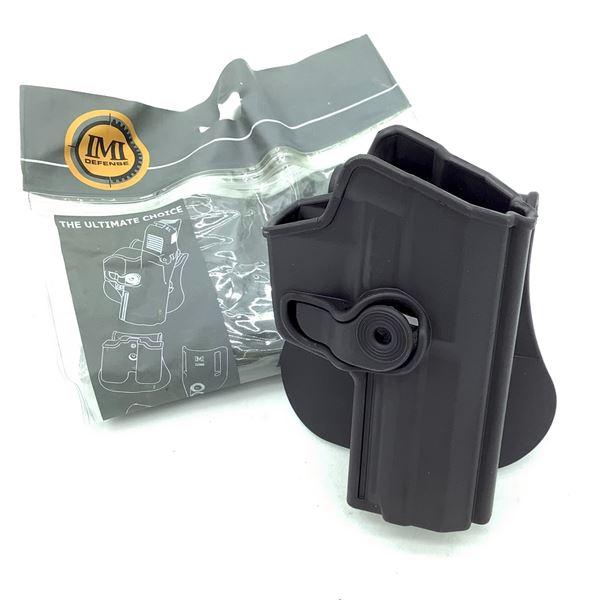 IMI Defense H & K USP Full Size 9 mm/ 40 Cal Retention Paddle Holster, Black, New