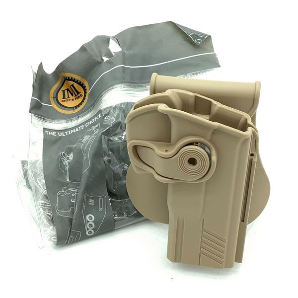 IMI Defense Taurus PT800 Series Holster, FDE, New