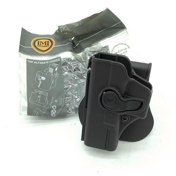 IMI Defense Glock 19/23/32 LH Retention Paddle Holster, BLK, New