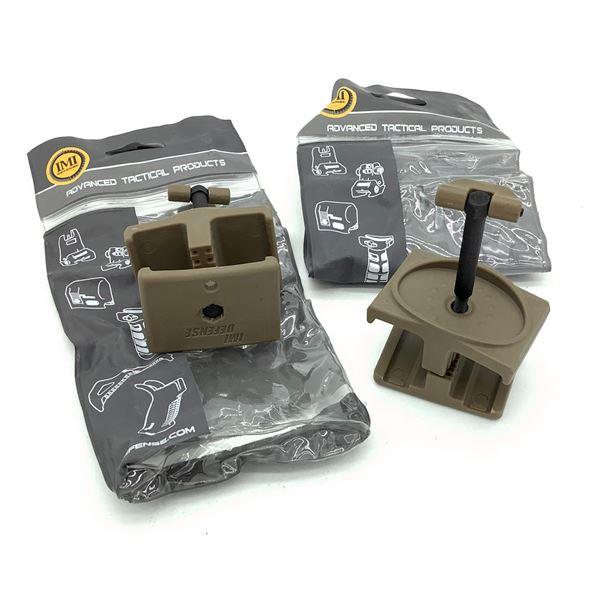IMI Defense AR-15 Magazine Coupler X 2, FDE, New