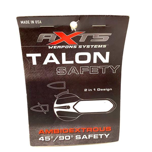 AXTS Talon Ambi 45/90 Safety Selector 4 Pk, Burnt Bronze, New