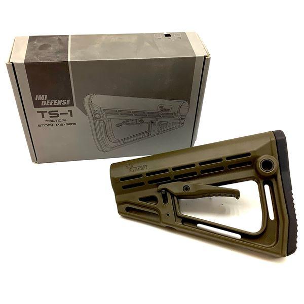 IMI Defense TS-1 Tactical Stock M16/ AR-15, ODG, New