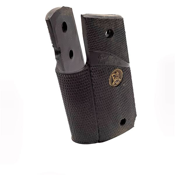 Pachmayr Colt Officers 45 ACP Grips, Black