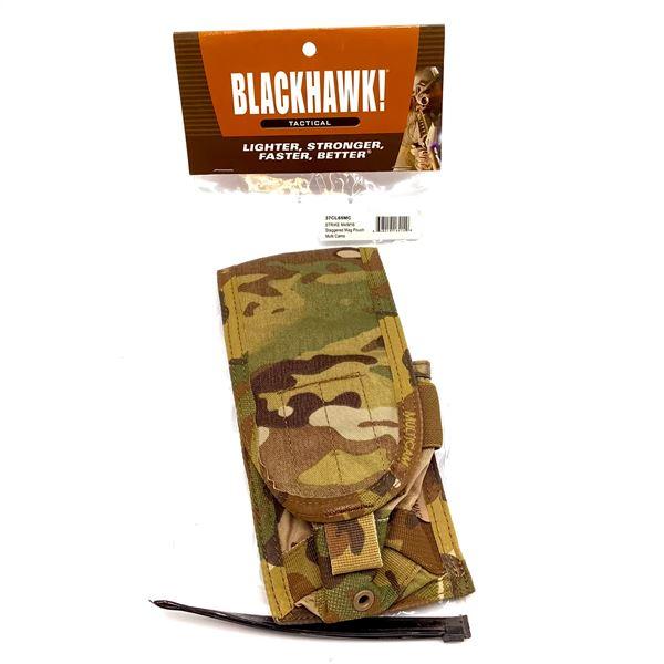 BlackHawk 37CL65MC Strike M4 / M16 Staggered Magazine Pouch, Multi Cam, New
